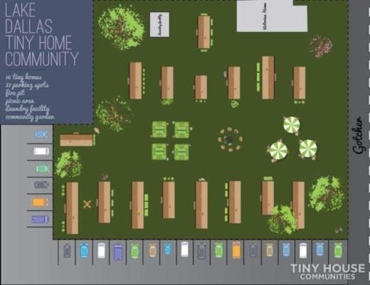 Lake Dallas Tiny House Community