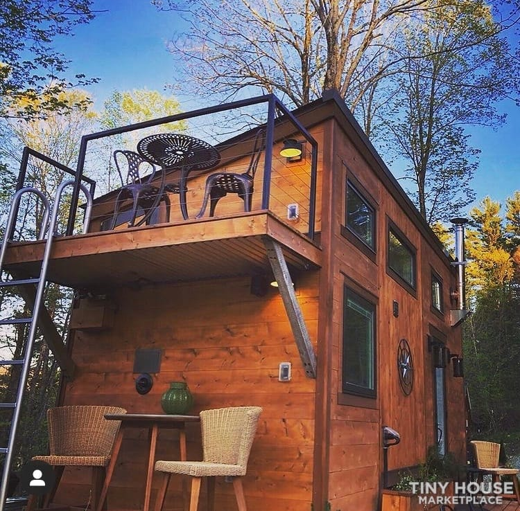 """The Hemingway"" Luxury Tiny Home - Slide 1"