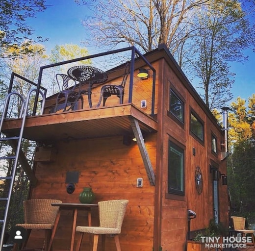 """The Hemingway"" Luxury Tiny Home"