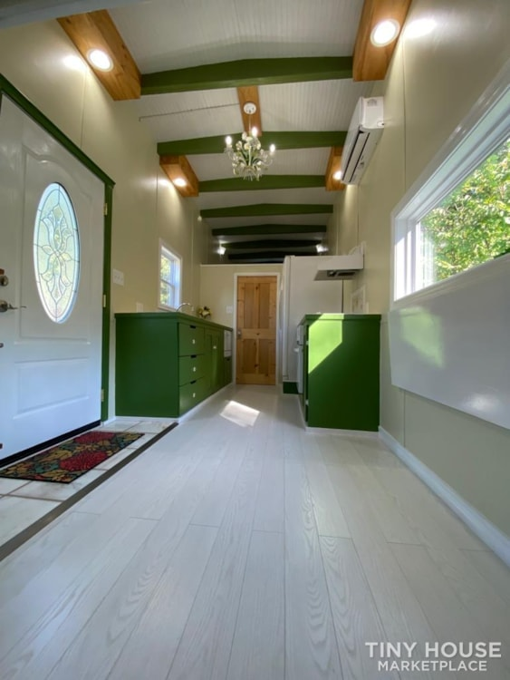 """""""The Ivy Cottage"""" 40' Tiny House on Wheels with 436 sq ft living space - Slide 5"""