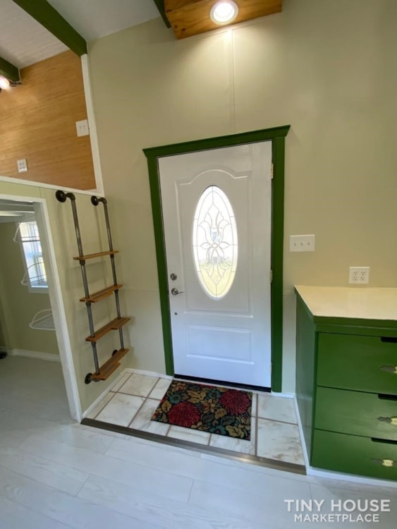 """""""The Ivy Cottage"""" 40' Tiny House on Wheels with 436 sq ft living space - Slide 6"""