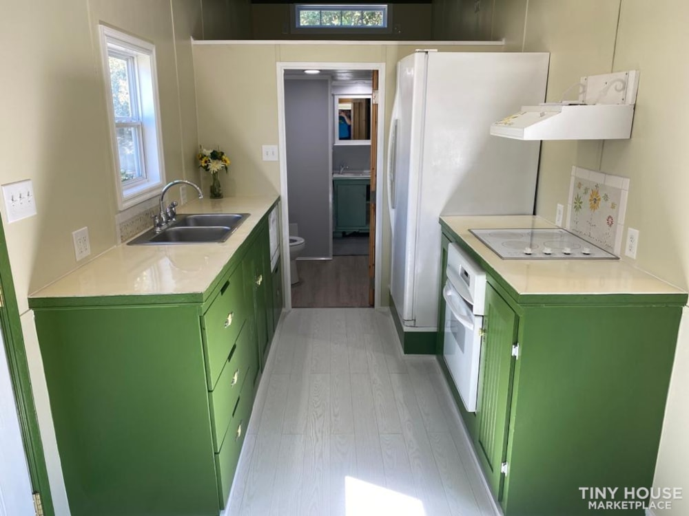 """""""The Ivy Cottage"""" 40' Tiny House on Wheels with 436 sq ft living space - Slide 13"""