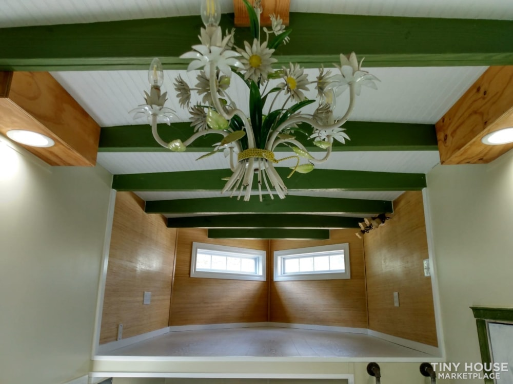 """""""The Ivy Cottage"""" 40' Tiny House on Wheels with 436 sq ft living space - Slide 41"""