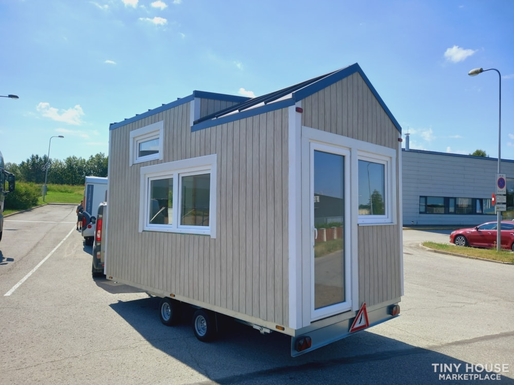 12.5 square meters tiny house - Slide 1