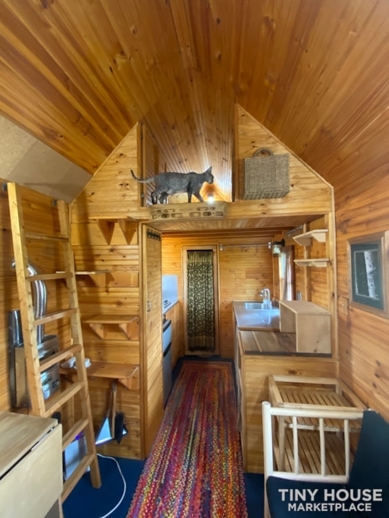 120 sq' Tiny House with deck for sale: WI - Slide 4