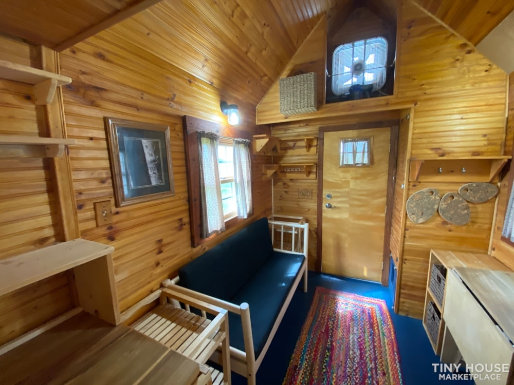 120 sq' Tiny House with deck for sale: WI - Slide 15