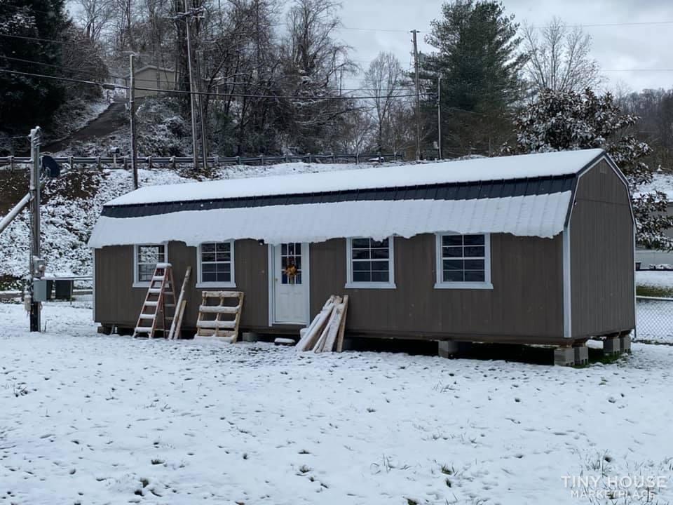 12x40 2020 Shed (tiny home)  - Slide 2
