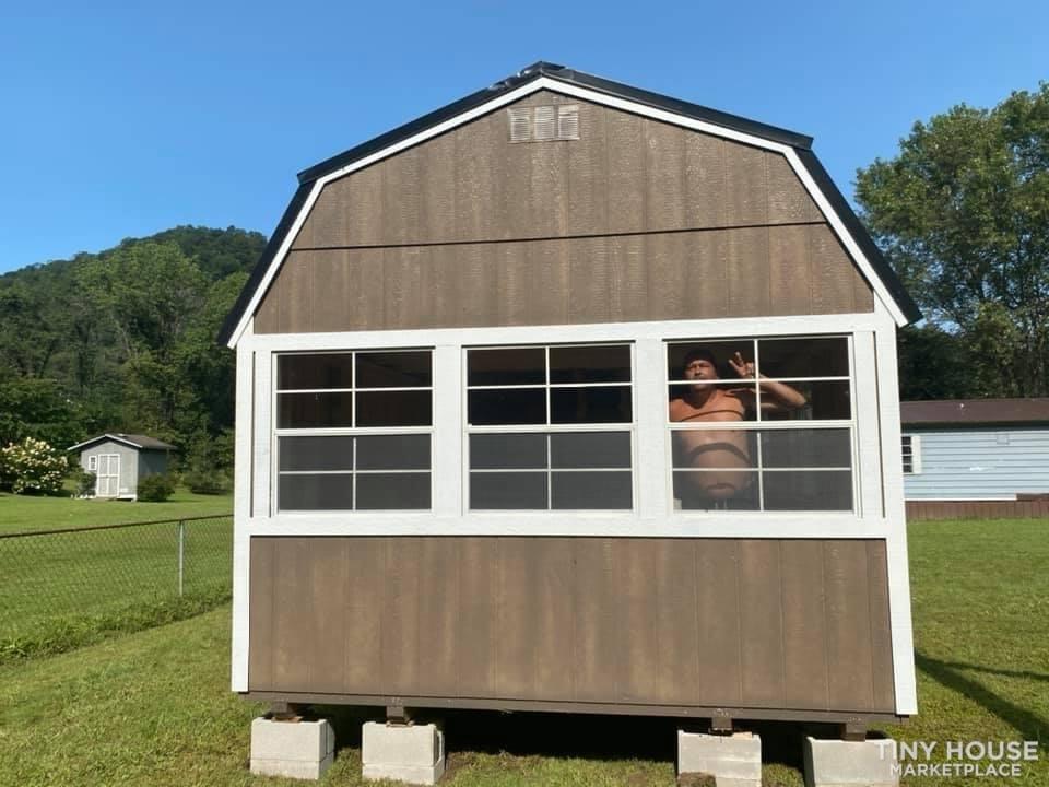 12x40 2020 Shed (tiny home)  - Slide 3