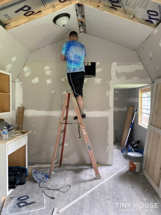 12x40 2020 Shed (tiny home)  - Slide 4