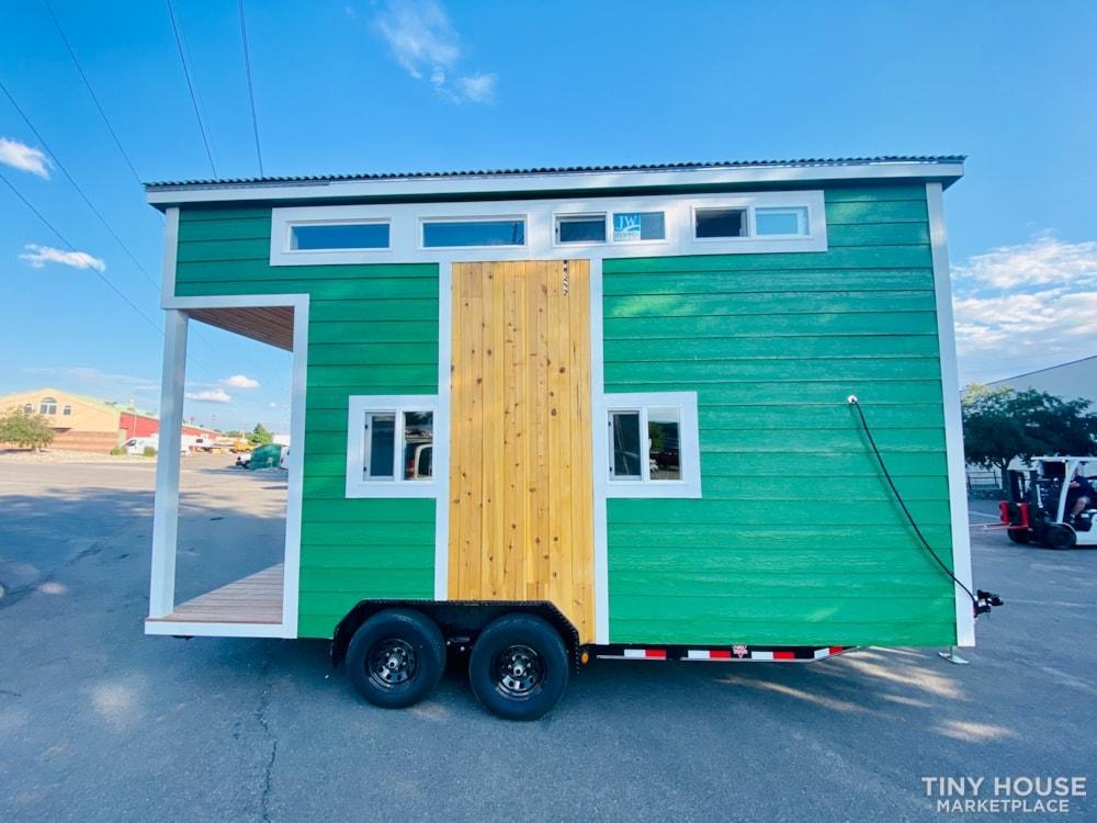 16ft Tiny House   External 4'x8' Deck   ADU Compliant   Sale Ends 10-18-21 - Slide 1