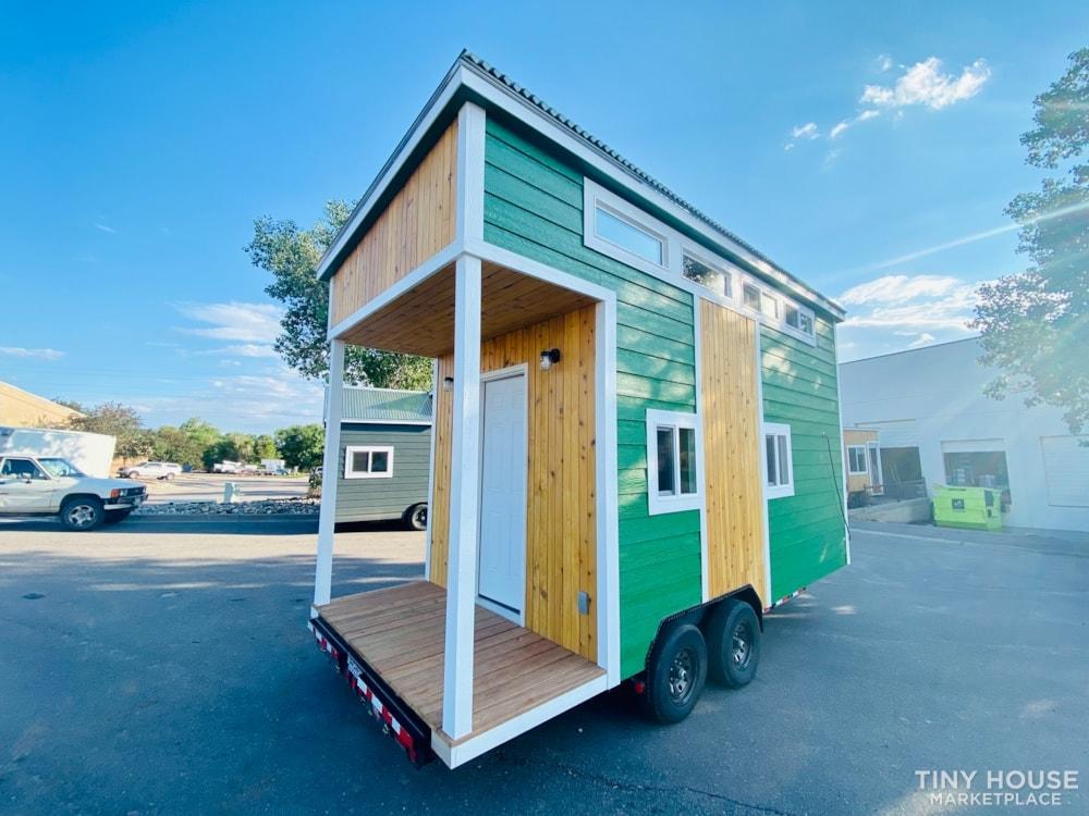 16ft Tiny House   External 4'x8' Deck   ADU Compliant   Sale Ends 10-18-21 - Slide 2