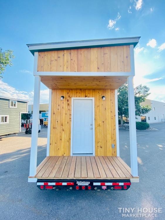 16ft Tiny House   External 4'x8' Deck   ADU Compliant   Sale Ends 10-18-21 - Slide 3