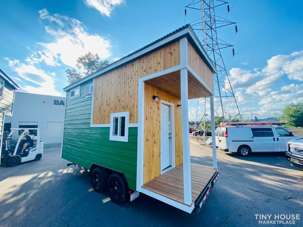 16ft Tiny House   External 4'x8' Deck   ADU Compliant   Sale Ends 10-18-21 - Slide 4