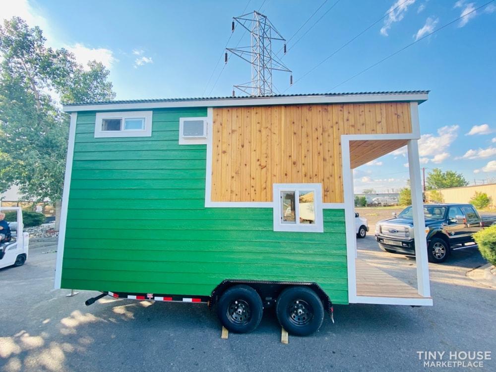 16ft Tiny House   External 4'x8' Deck   ADU Compliant   Sale Ends 10-18-21 - Slide 6
