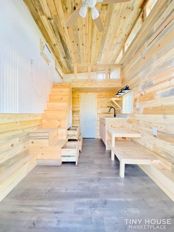 16ft Tiny House   External 4'x8' Deck   ADU Compliant   Sale Ends 10-18-21 - Slide 7