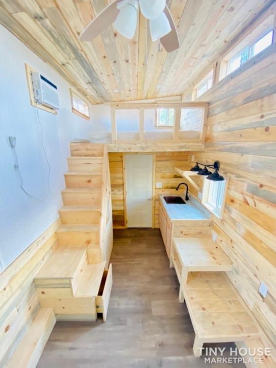 16ft Tiny House   External 4'x8' Deck   ADU Compliant   Sale Ends 10-18-21 - Slide 8