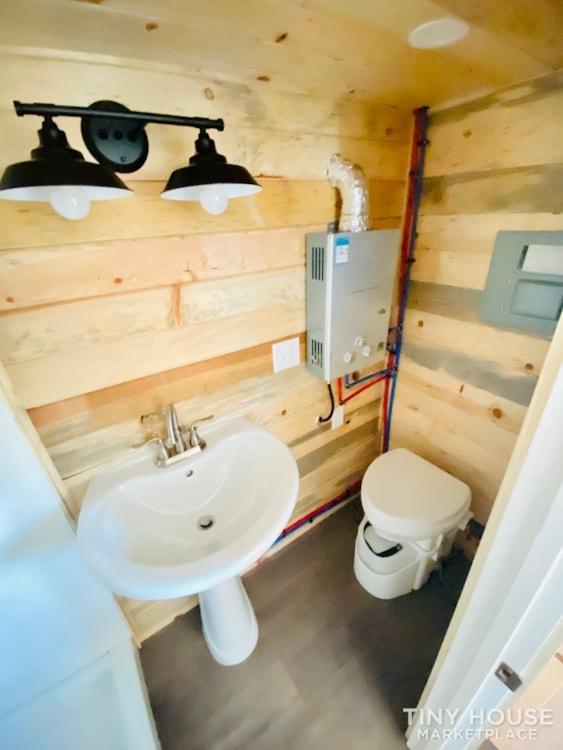 16ft Tiny House   External 4'x8' Deck   ADU Compliant   Sale Ends 10-18-21 - Slide 14