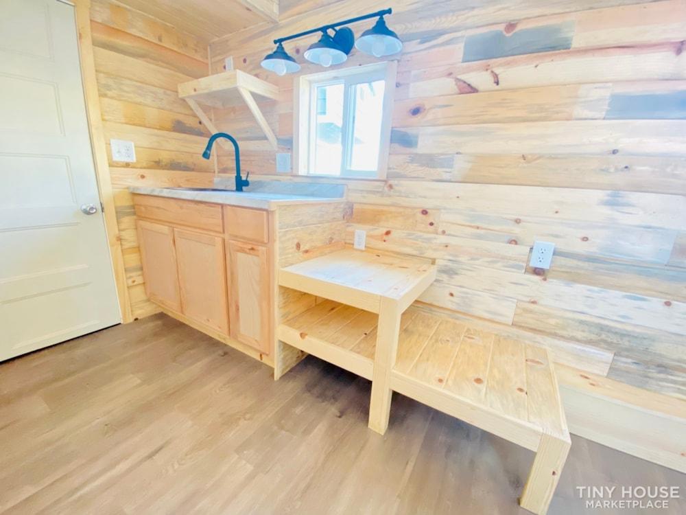 16ft Tiny House   External 4'x8' Deck   ADU Compliant   Sale Ends 10-18-21 - Slide 16