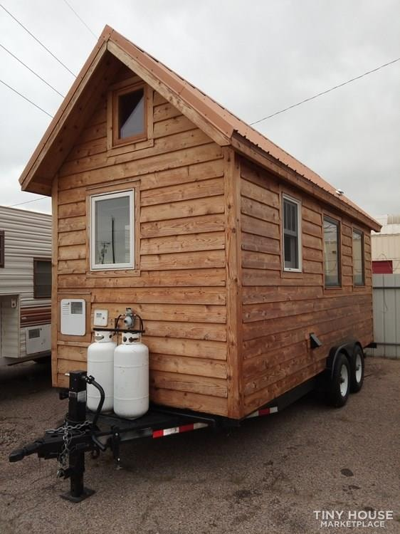 18 foot Tiny House-IF THIS AD IS UP HERE, IT IS STILL FOR SALE IN ALBUQUERUE, NM - Slide 1