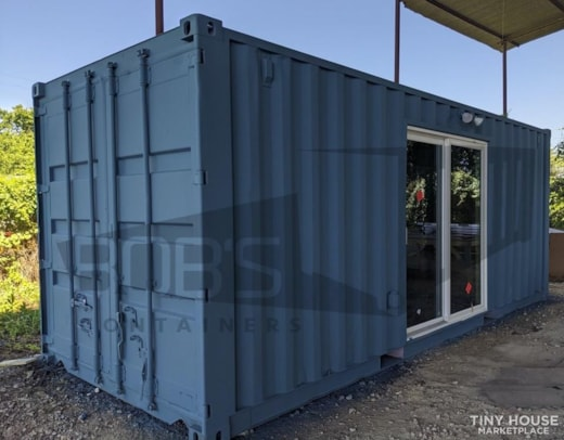 """20 ft Container Home   """"The Cleveland"""" Model"""