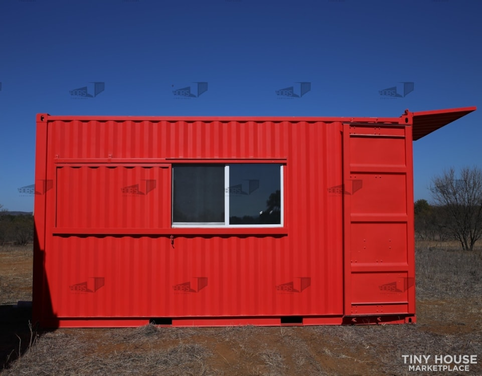 """20 ft Container - """"The Kerville"""" Model - Slide 1"""