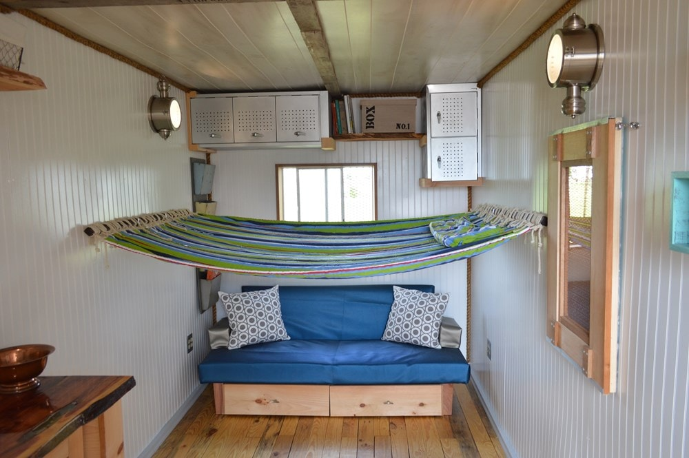 """""""Enjoy the Little Things"""" shipping container tiny home - Slide 4"""