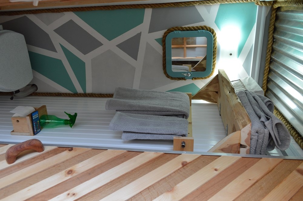 """""""Enjoy the Little Things"""" shipping container tiny home - Slide 9"""