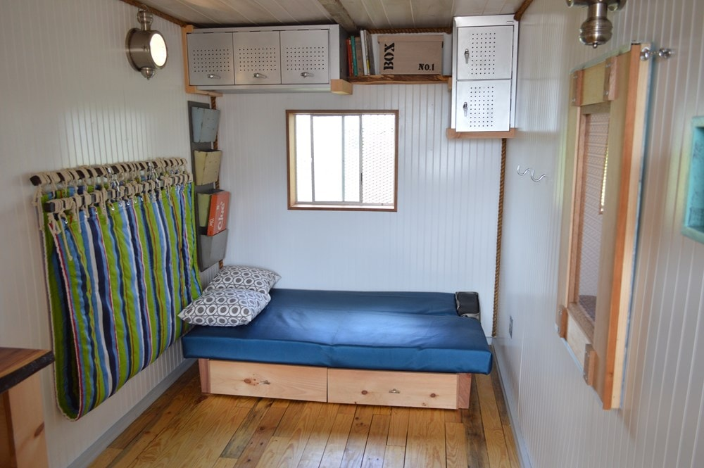 """""""Enjoy the Little Things"""" shipping container tiny home - Slide 3"""