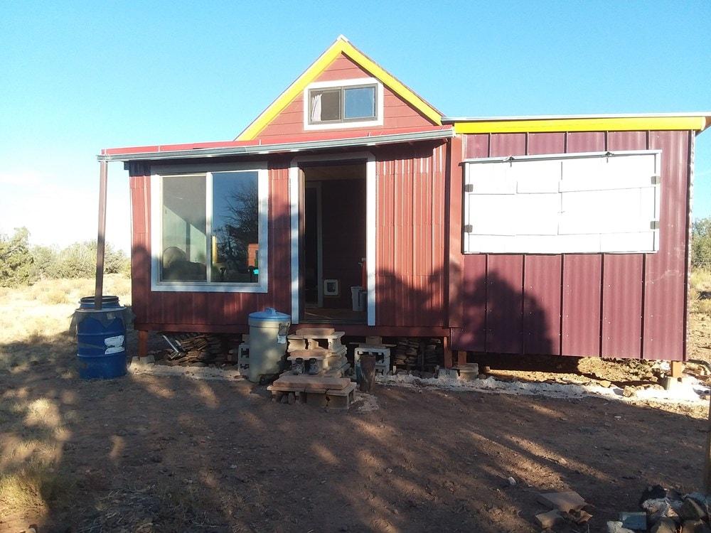 Tiny house on 20 acres of off-grid land - northern Arizona ($55,000) - Slide 1