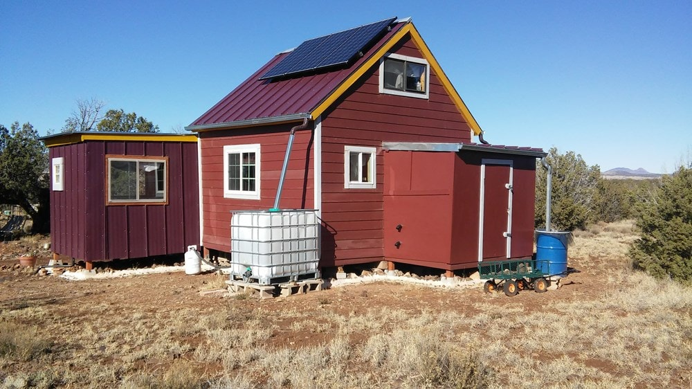 Tiny house on 20 acres of off-grid land - northern Arizona ($55,000) - Slide 3