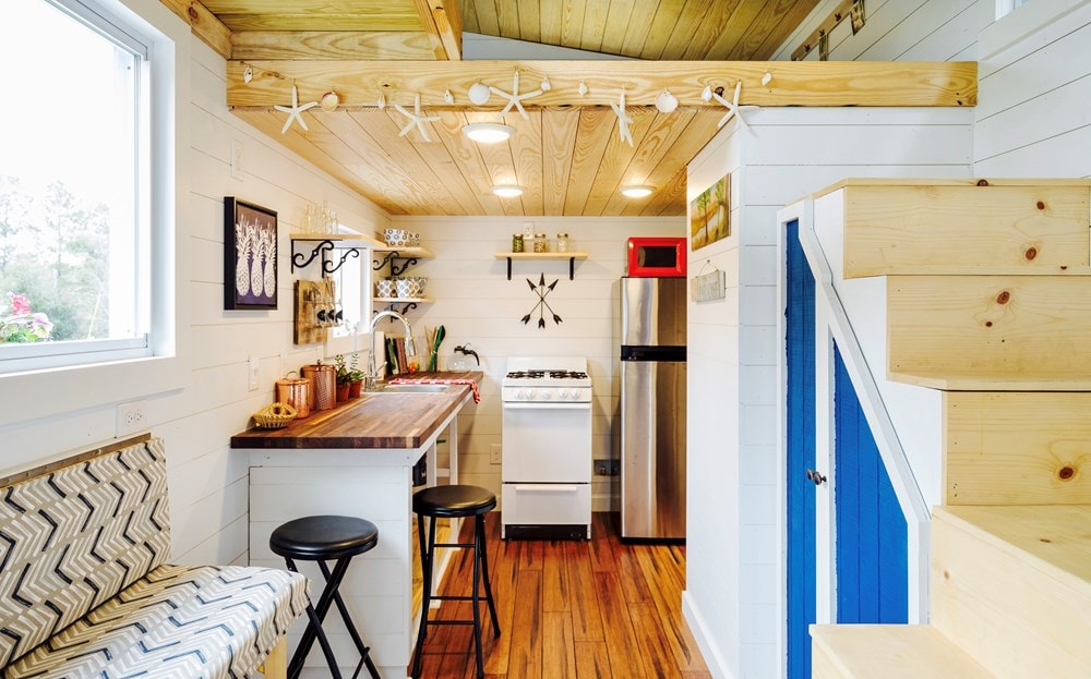 FEATURED ON DIY TV, Charlestonian Dream, 320 sf Tiny House. Land not included. - Slide 4