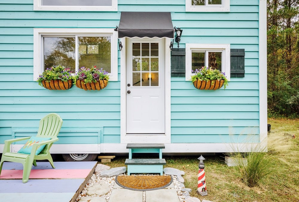 FEATURED ON DIY TV, Charlestonian Dream, 320 sf Tiny House. Land not included. - Slide 2