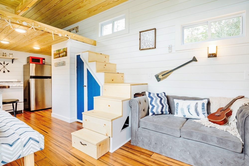 FEATURED ON DIY TV, Charlestonian Dream, 320 sf Tiny House. Land not included. - Slide 3