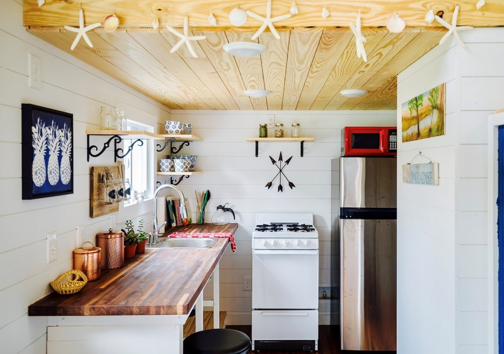 FEATURED ON DIY TV, Charlestonian Dream, 320 sf Tiny House. Land not included. - Slide 5