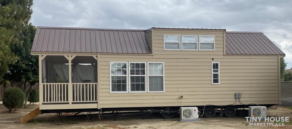 2018 Custom Built 37' Tiny Home Trailer 1 bedroom w/ sleeping loft  - Slide 1
