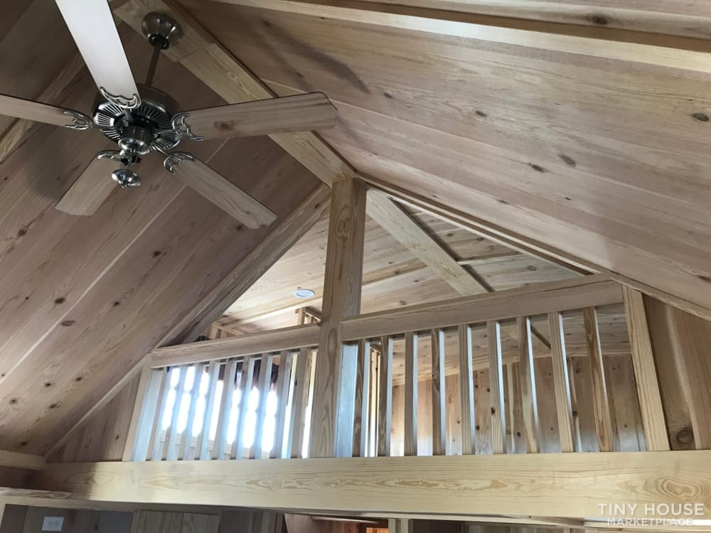 2018 Custom Built 37' Tiny Home Trailer 1 bedroom w/ sleeping loft  - Slide 8