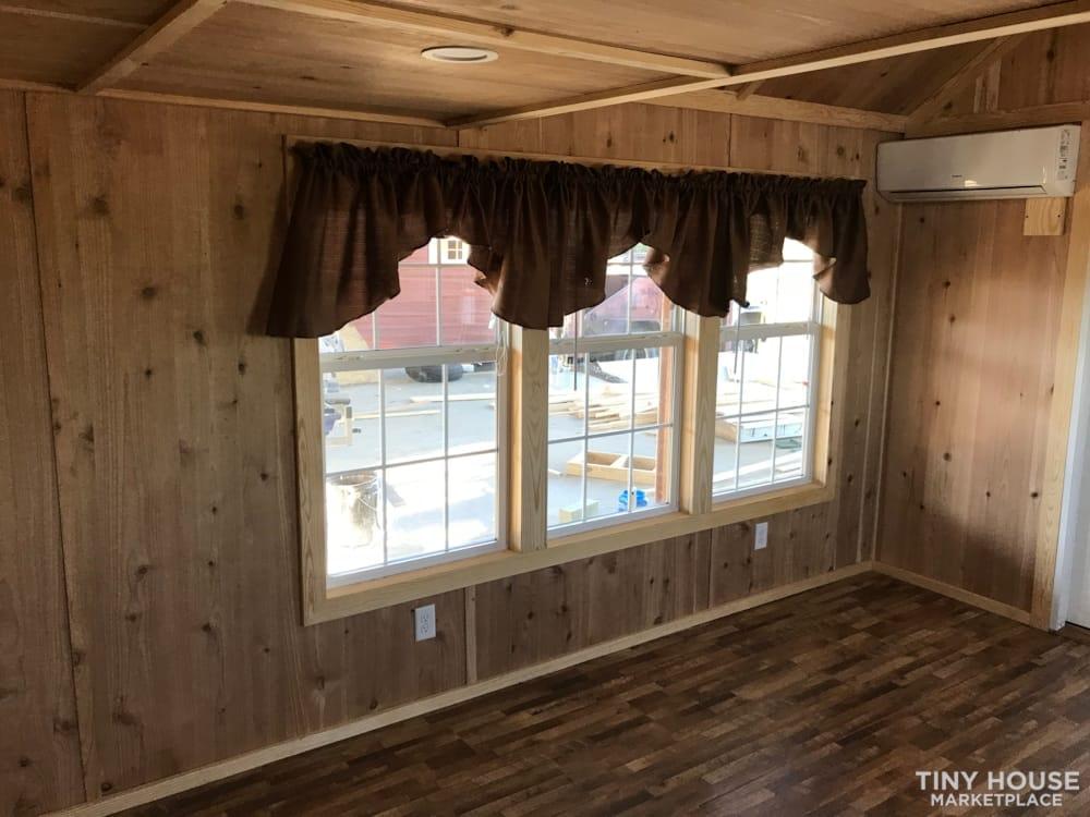2018 Custom Built 37' Tiny Home Trailer 1 bedroom w/ sleeping loft  - Slide 9