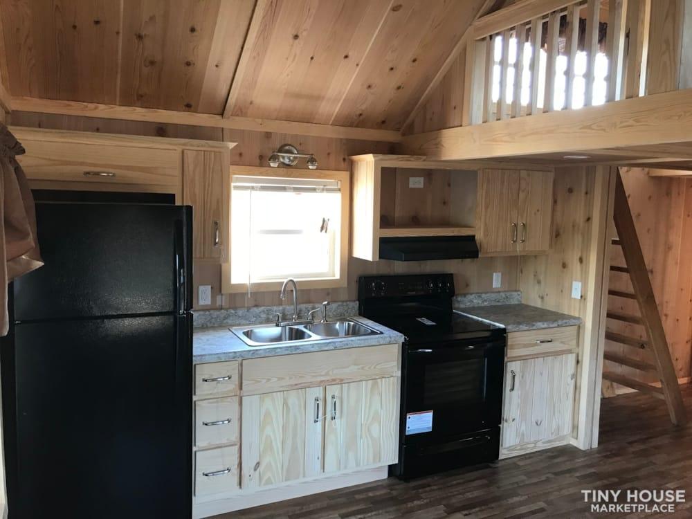 2018 Custom Built 37' Tiny Home Trailer 1 bedroom w/ sleeping loft  - Slide 3