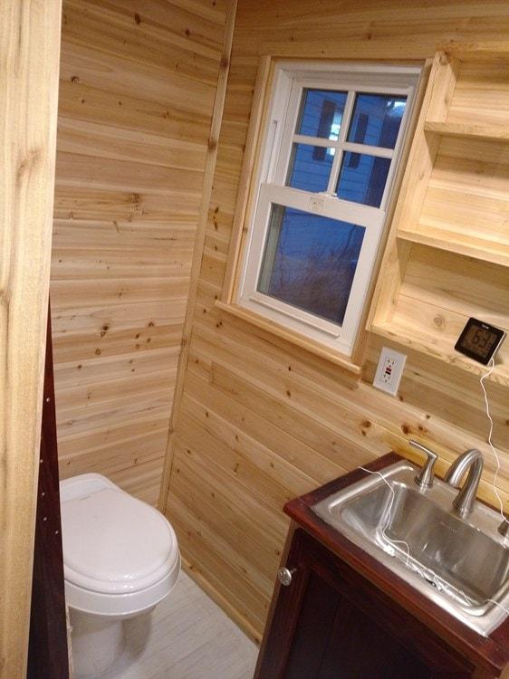 Tiny Cabin on Wheels -SOLD - Slide 8