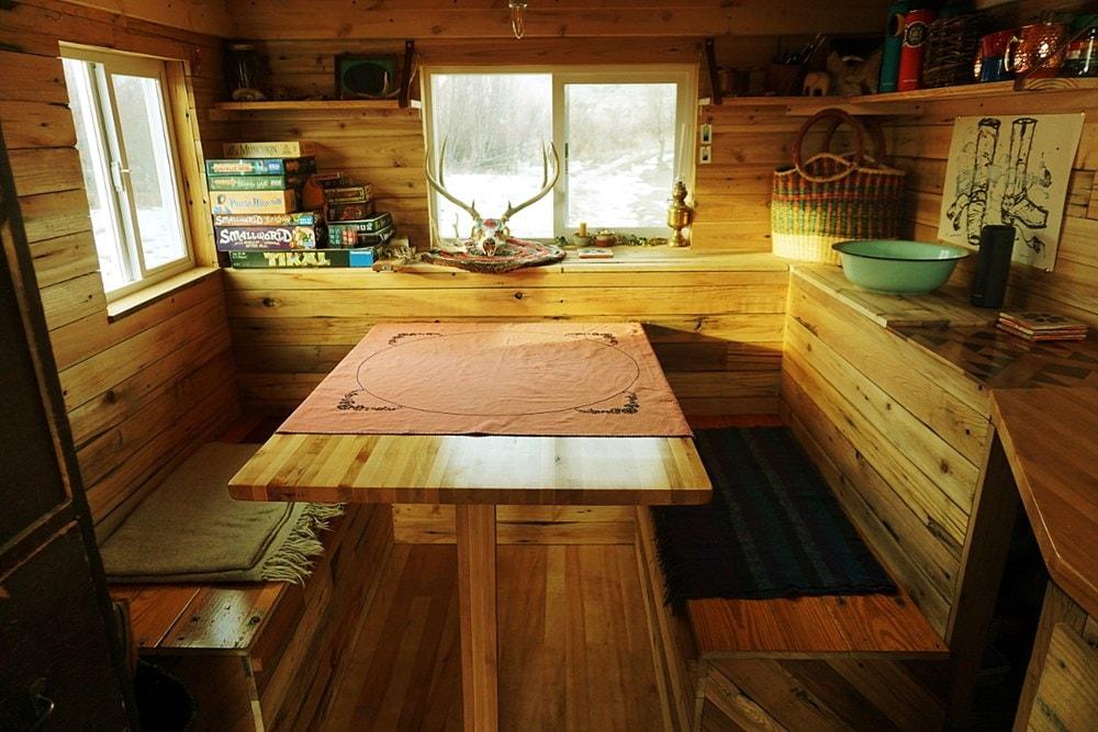 The 12 foot cedar Wheelie Shack - Slide 7