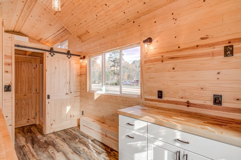 """""""Downstairs Bedroom"""" Tiny Home  - Slide 9"""