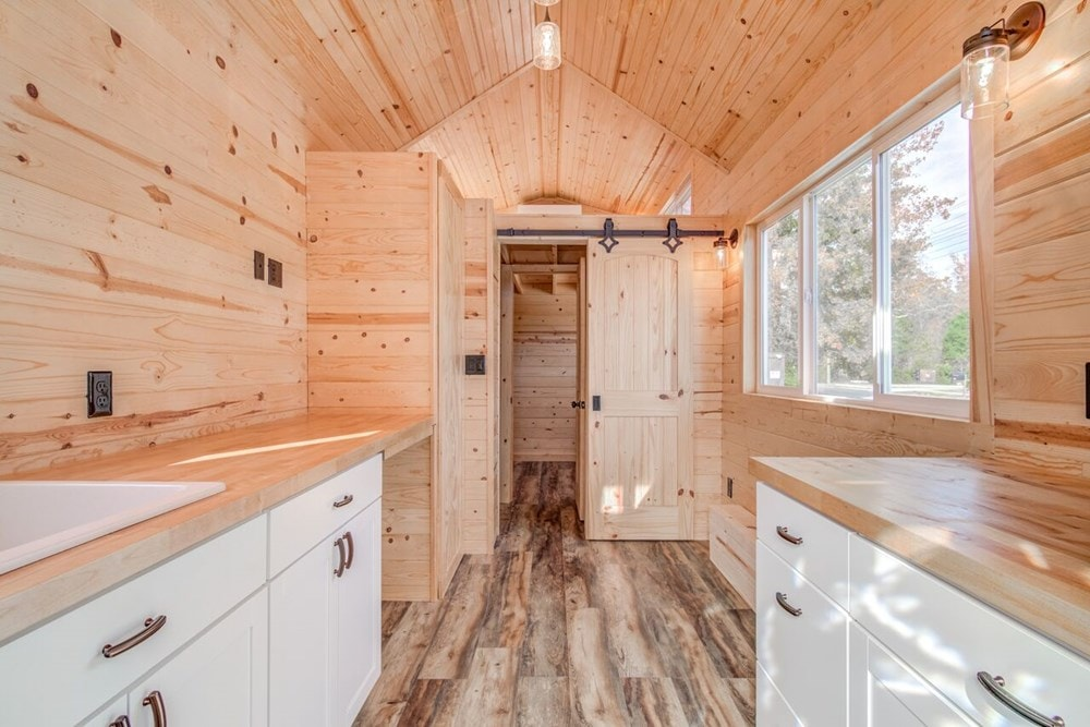 """""""Downstairs Bedroom"""" Tiny Home  - Slide 4"""