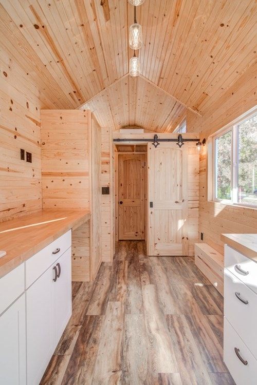 """""""Downstairs Bedroom"""" Tiny Home  - Slide 2"""