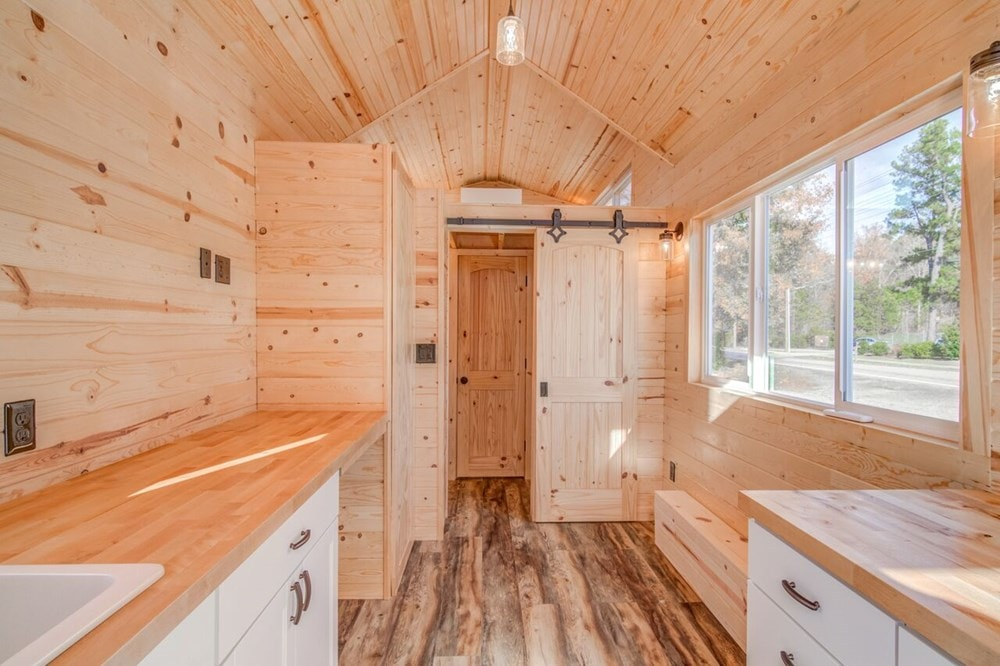 """""""Downstairs Bedroom"""" Tiny Home  - Slide 7"""