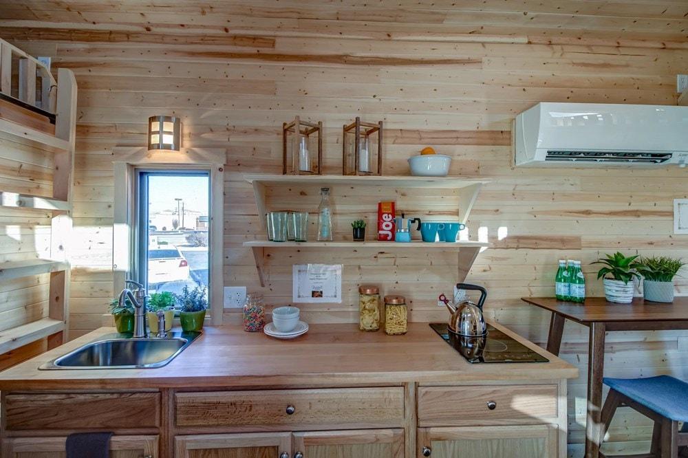 BRAND NEW 26-Foot Tumbleweed Roanoke Double Lofted Tiny House - Slide 6