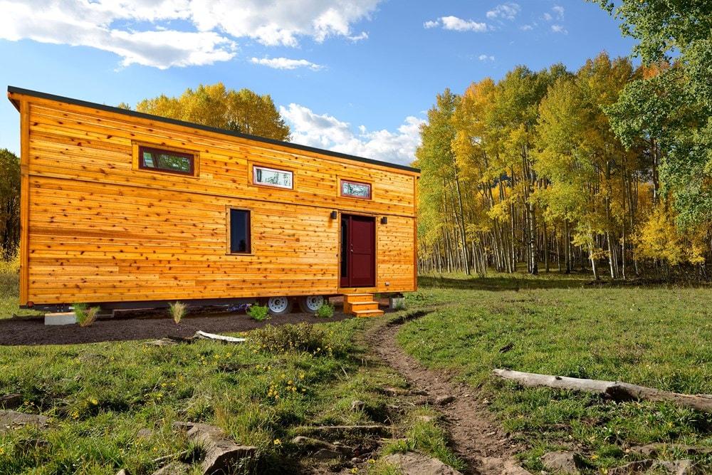 BRAND NEW 26-Foot Tumbleweed Roanoke Double Lofted Tiny House - Slide 1