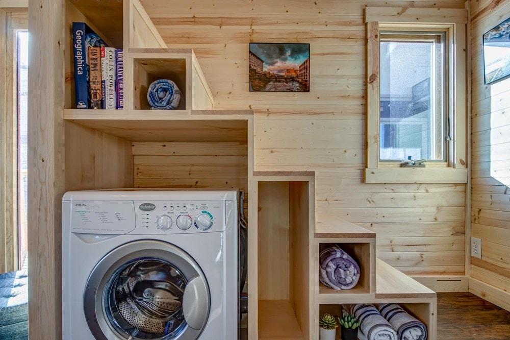BRAND NEW 26-Foot Tumbleweed Roanoke Double Lofted Tiny House - Slide 7