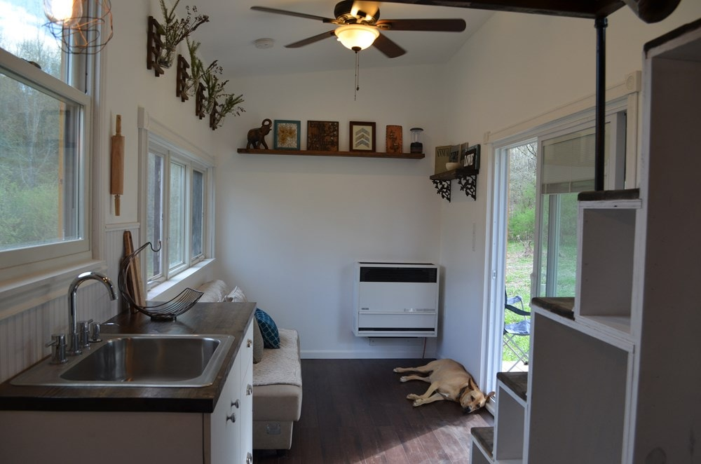 ***PENDING***   Beautiful 25ft Tiny House on Wheels for Sale in Upstate New York - Slide 6