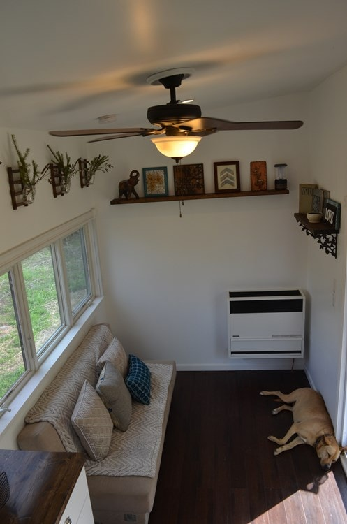 ***PENDING***   Beautiful 25ft Tiny House on Wheels for Sale in Upstate New York - Slide 4