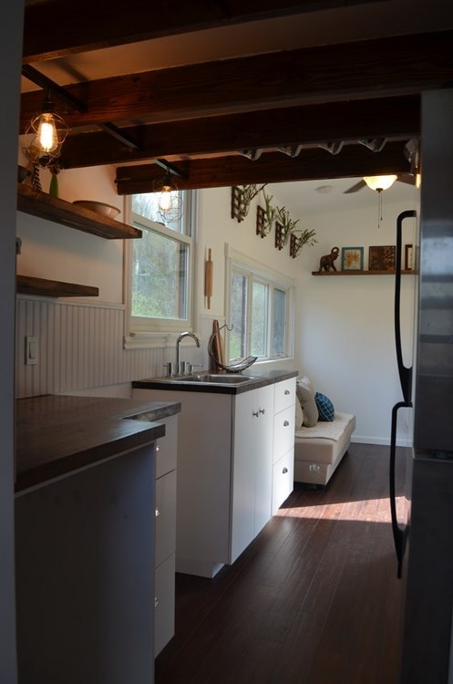 ***PENDING***   Beautiful 25ft Tiny House on Wheels for Sale in Upstate New York - Slide 8